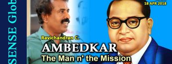 AMBEDKAR: The Man n' the Mission – Ravichandran C.