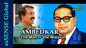 AMBEDKAR: The Man n' the Mission – Ravichandran C.
