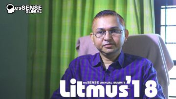 Litmus'18 Promo – Dr. Sunil Kumar P.S.
