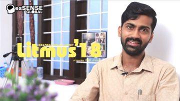 Litmus'18 Promo – Vaisakhan Thampi