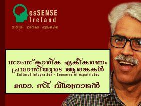 സാംസ്കാരിക ഏകീകരണം – പ്രവാസിയുടെ ആശങ്കകൾ Cultural Integration Dr. C. Viswanathan